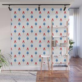 Popsicle Pattern - Bomb Pop #134 Wall Mural
