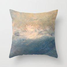 Turbulent Serenity Throw Pillow