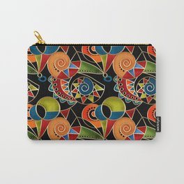 Abstraction - Carnival Carry-All Pouch