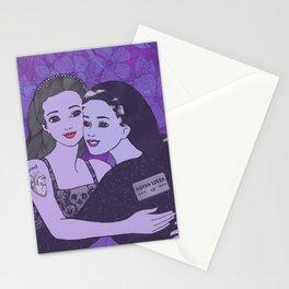 grrrl love saves lives Stationery Cards