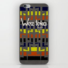 Eastachi -Wezteka Union. iPhone Skin