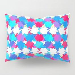 Octagons 2 - Blue Pillow Sham