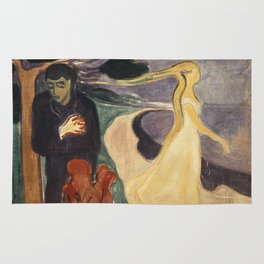 Separation by Edvard Munch Rug