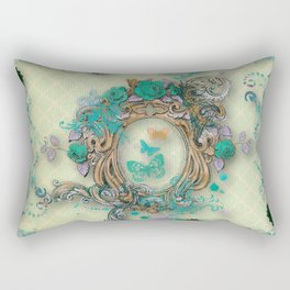 Antique florals Rectangular Pillow