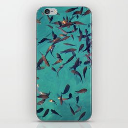 gone fishing iPhone Skin