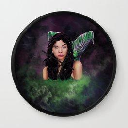 Ariel Digital Painting Wall Clock