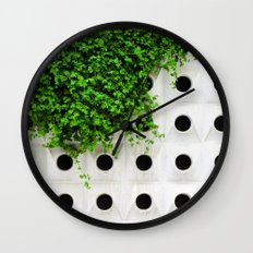 Nature and Structure Wall Clock