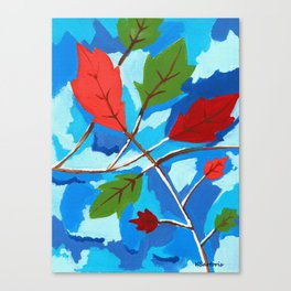 Falling For Fall Canvas Print
