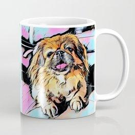 Pekingese Cartoon photo Coffee Mug