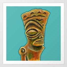 Marquesan East Art Print