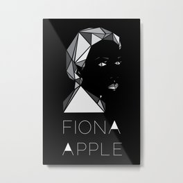 A Multifaceted Fiona Apple Metal Print
