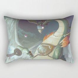 The Dreamteller of Travel Rectangular Pillow