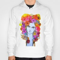 florence Hoodies featuring Florence by D.U.R.A