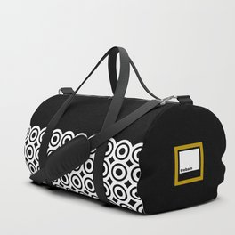 raspust (black/white) Duffle Bag