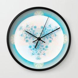 Peace Beyond Life Mandala Wall Clock