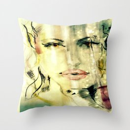 Shanel  Throw Pillow