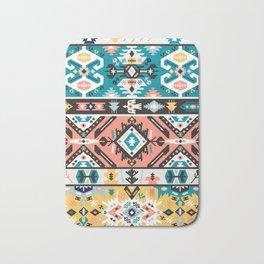 Tribal chic seamless colorful patterns Bath Mat
