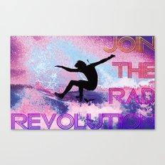 RAD revolution  Canvas Print