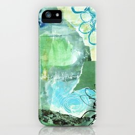 Green IceField iPhone Case