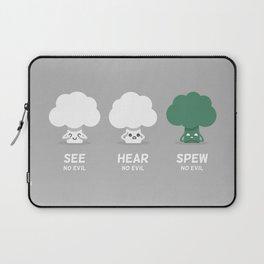 Spew No Evil Laptop Sleeve