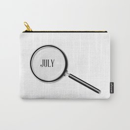 July Magnifying Glass Carry-All Pouch