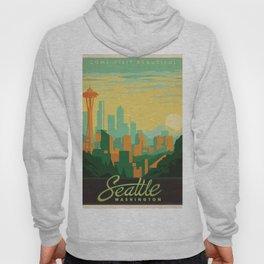 Vintage poster - Seattle Hoody
