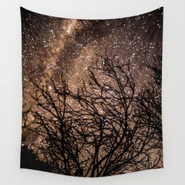 Stars in the Night Sky Wall Tapestry