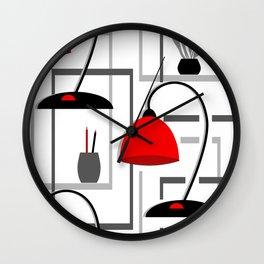 Table lamp , retro Wall Clock