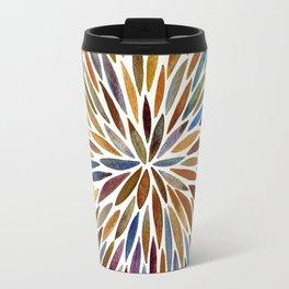 Watercolor Burst – Retro Palette Travel Mug