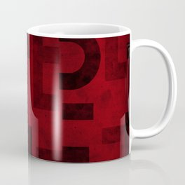 Cabernet Wine Typography Coffee Mug