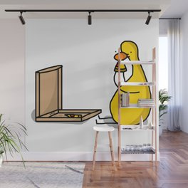 Pizza Party for One Wall Mural