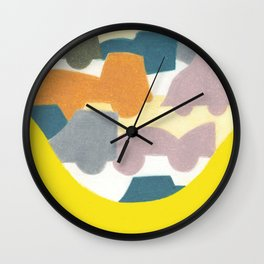 The Busy Street Wall Clock