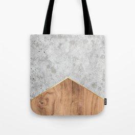 Concrete Arrow Wood #345 Tote Bag
