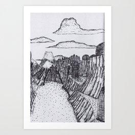 The Village of Iyk Art Print