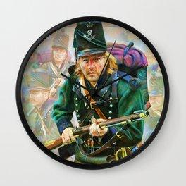 Light Infantry Wall Clock