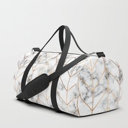 Marble Geometry 057 Duffle Bag