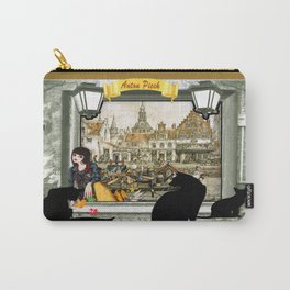 Canals in old Amsterdam Carry-All Pouch