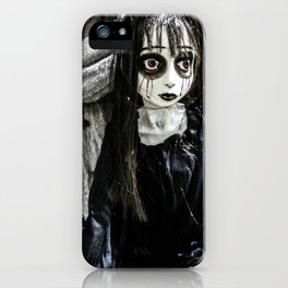 Goth Girl iPhone Case