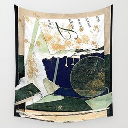 Green and Gold Wall Tapestry