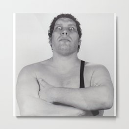 André René Roussimoff (Andre the Giant) Metal Print