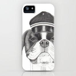 Boxer with cap iPhone Case