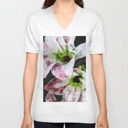 Amaryllis Unisex V-Neck