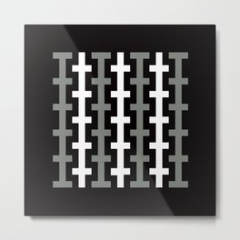 Geometric Pattern #113 Metal Print