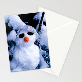 Mr Snow Stationery Cards