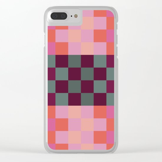 Red Paprika Clear iPhone Case