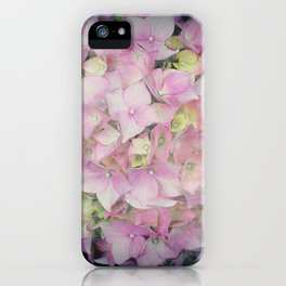 Hydrangea Ball iPhone Case