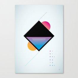 minimal natural Canvas Print
