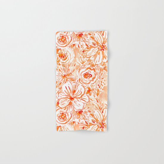 BIG SUNSHINE Floral Hand & Bath Towel