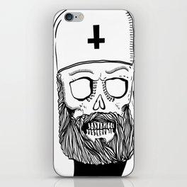 Satan bless you iPhone Skin