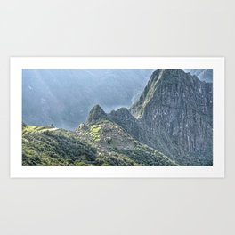 The Lost City of The Incas Art Print